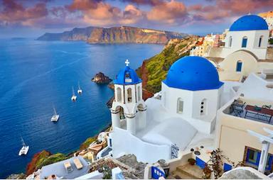Cảnh đẹp Santorini Hy Lạp - TPKT327