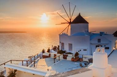 Cảnh đẹp Santorini Hy Lạp - TPKT329