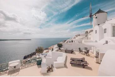 Cảnh đẹp Santorini Hy Lạp - TPKT336