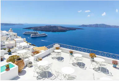 Cảnh đẹp Santorini Hy Lạp - TPKT338