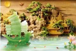 Tranh Thuận buồm xuôi gió - TTB15