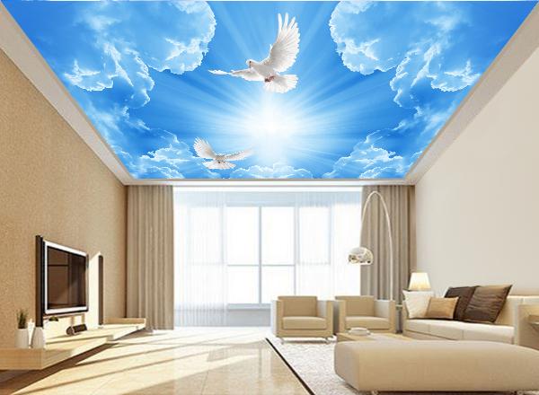 Trần mây - MS38