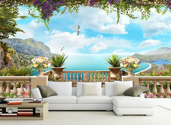 Tranh 3D phòng khách - TPK37