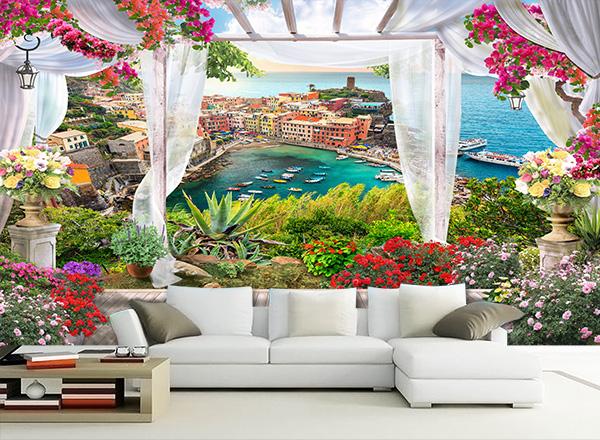Tranh 3D phòng khách - TPK35