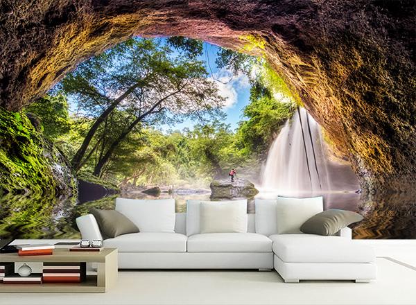 Tranh 3D phòng khách - TPK40