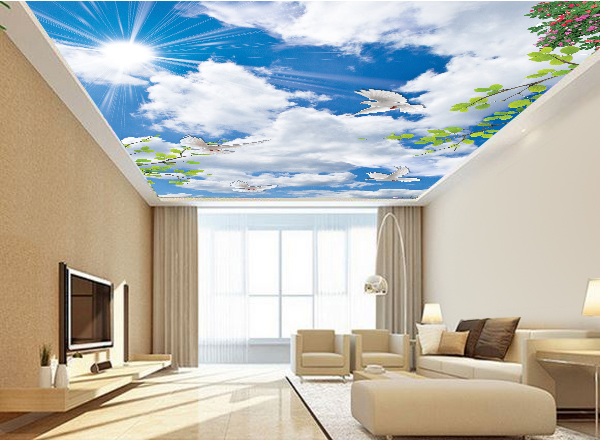 Tranh 3d trần nhà - MS126