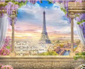 Tranh bích hoạ phong cảnh Châu Âu TBH138