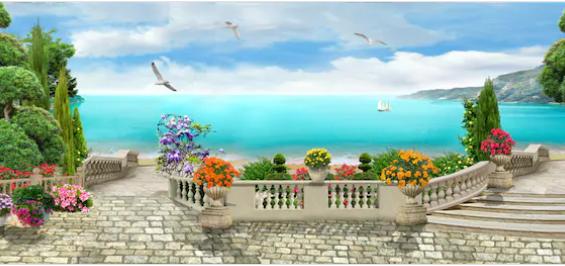 Tranh bích hoạ phong cảnh Châu Âu TBH150