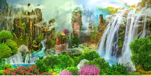 Tranh bích hoạ phong cảnh Châu Âu TBH154
