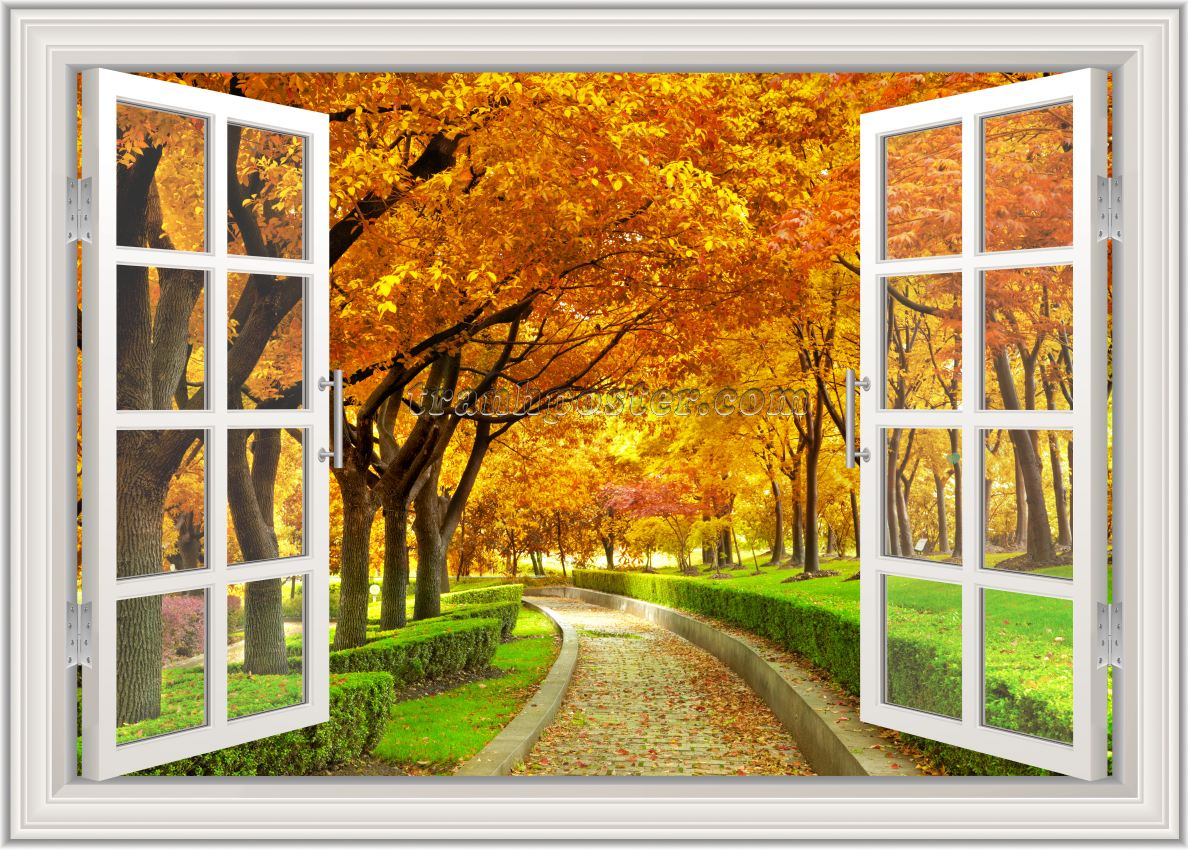 Tranh cửa sổ 3D - CS113