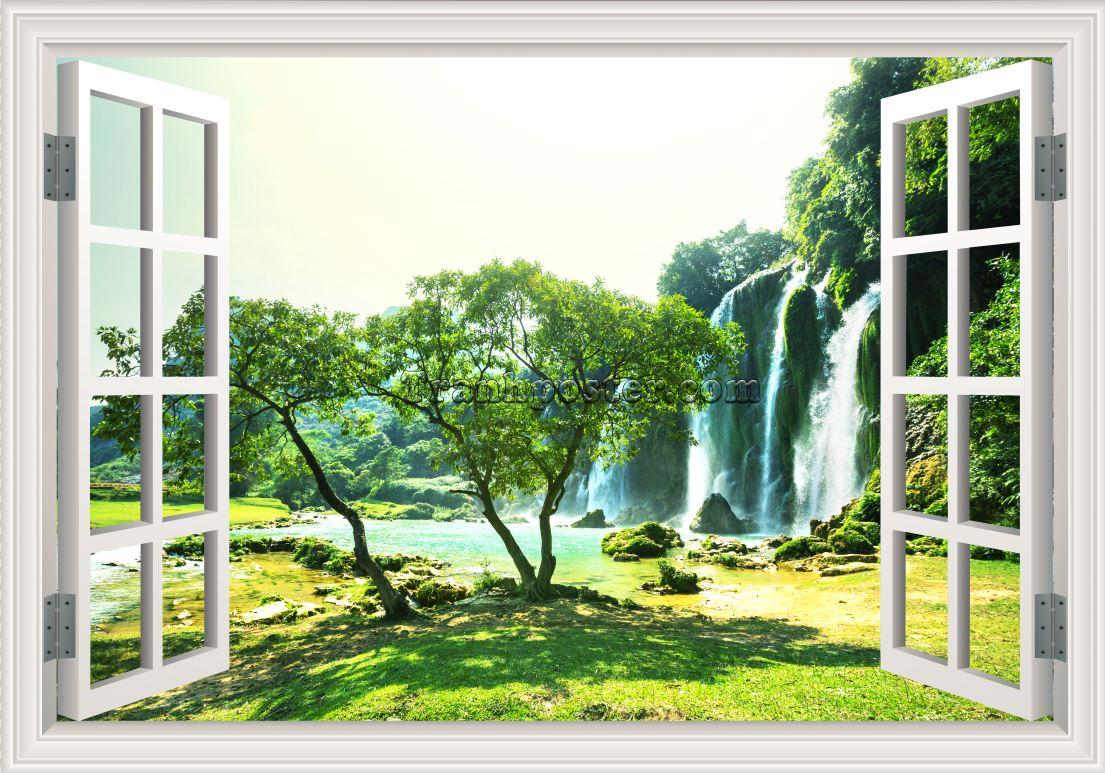 Tranh cửa sổ 3D - CS22