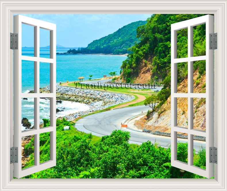 Tranh cửa sổ 3D - CS24