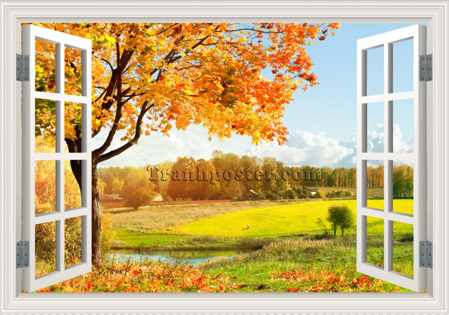 Tranh cửa sổ 3D - CS26