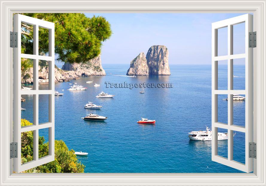 Tranh cửa sổ 3D - CS27