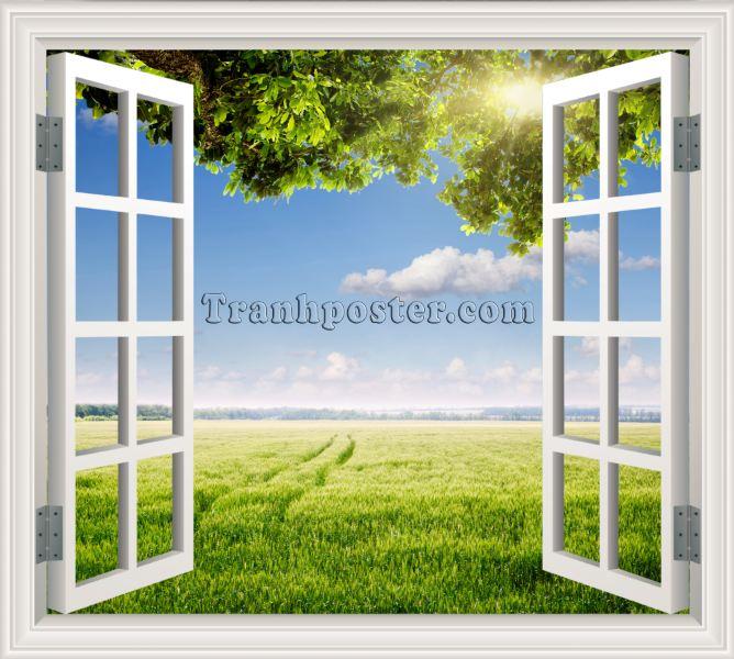 Tranh cửa sổ 3D - CS28