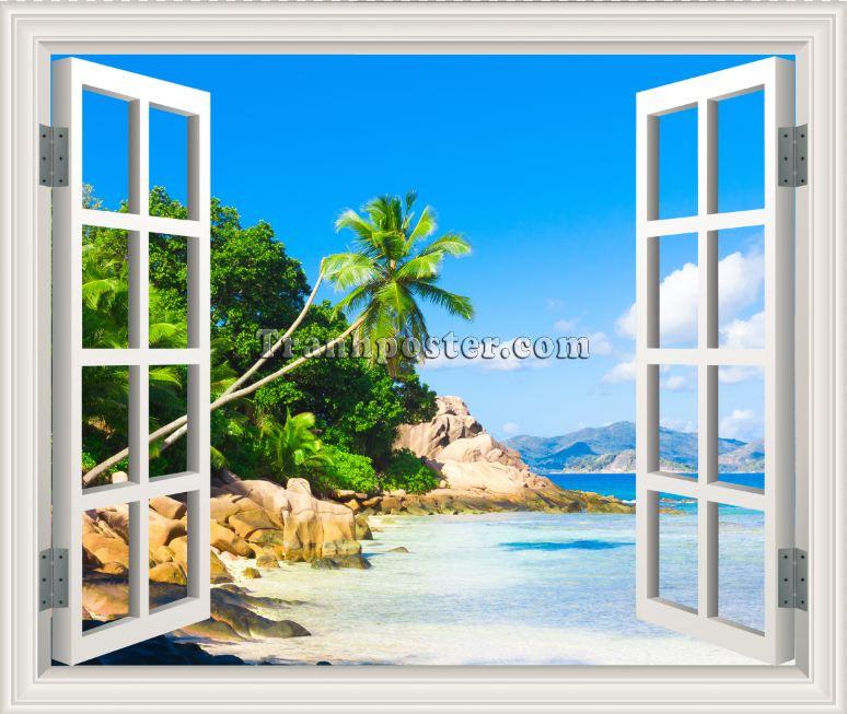 Tranh cửa sổ 3D - CS33