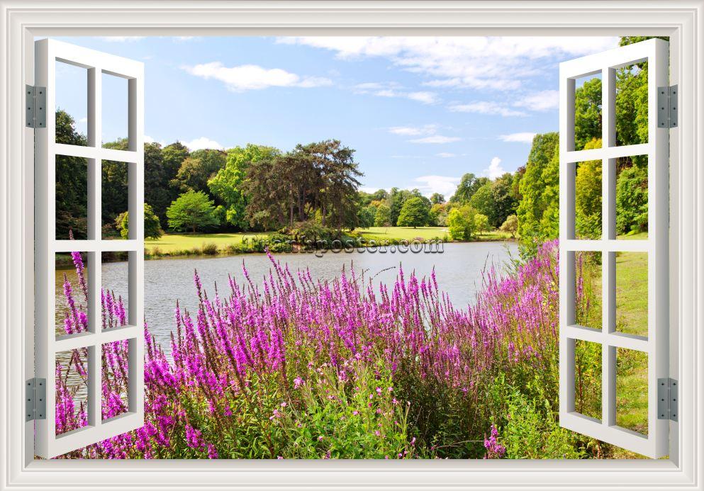 Tranh cửa sổ 3D - CS05