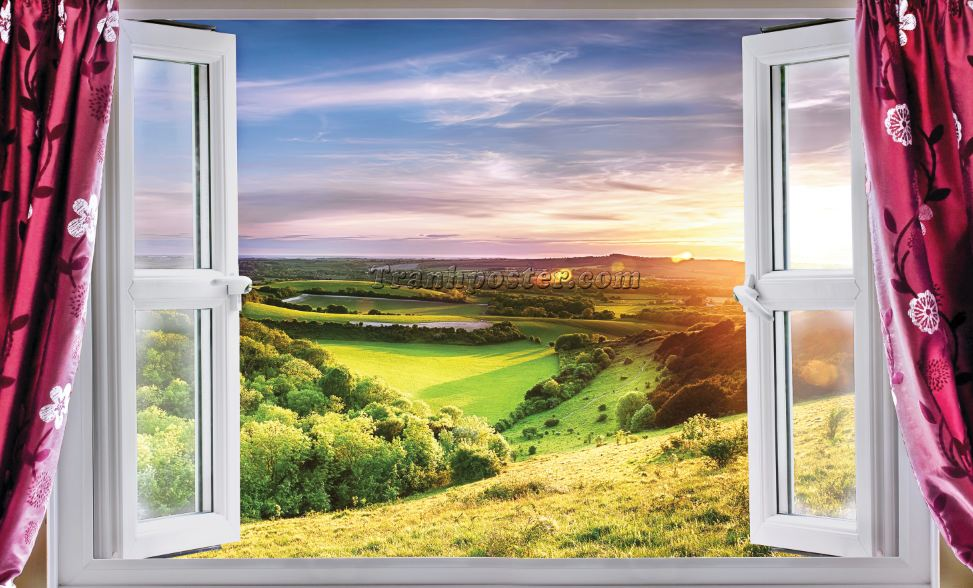 Tranh cửa sổ 3D - CS53