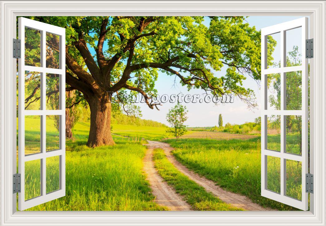 Tranh cửa sổ 3D - CS59