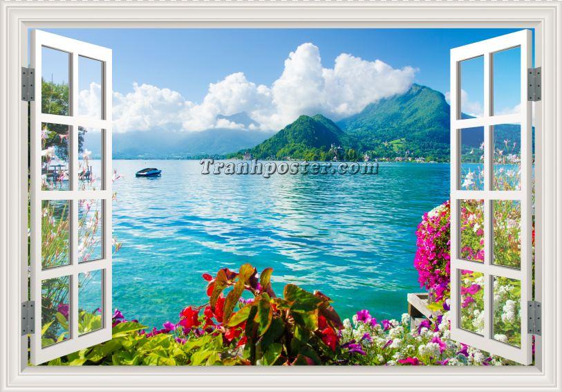 Tranh cửa sổ 3D - CS72