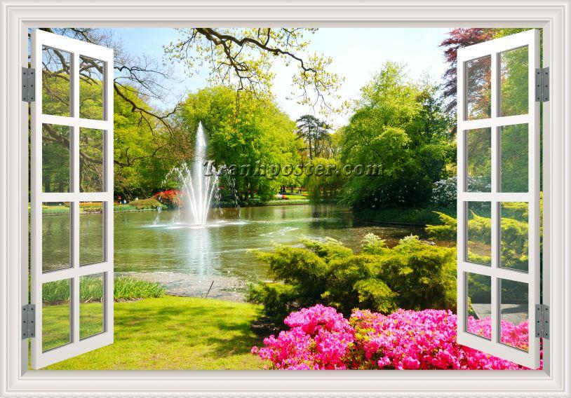 Tranh cửa sổ 3D - CS73