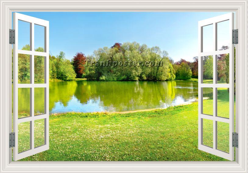 Tranh cửa sổ 3D - CS75