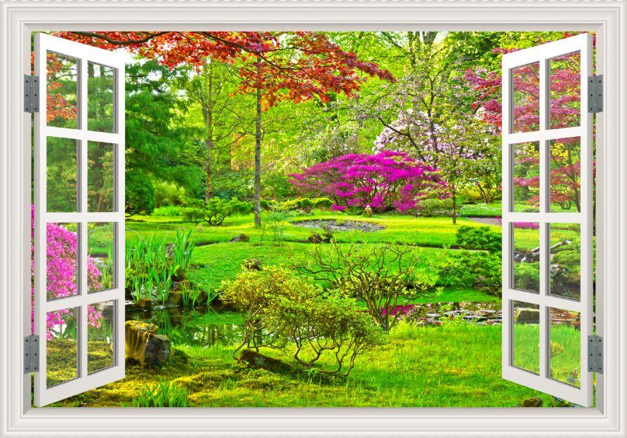 Tranh cửa sổ 3D - CS78