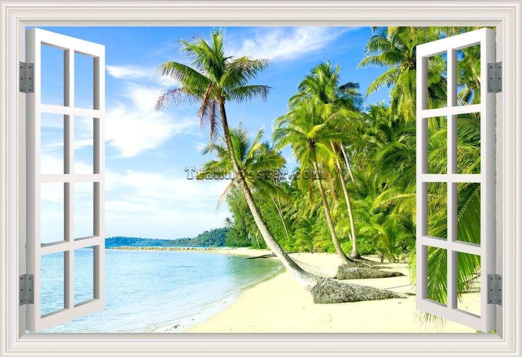 Tranh cửa sổ 3D - CS09