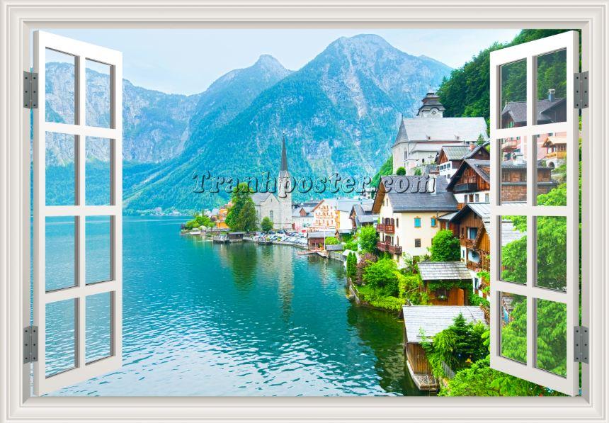 Tranh cửa sổ 3D - CS92