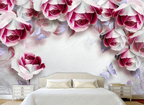 Tranh dán tường 3D phòng ngủ - TPN59