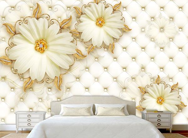 Tranh dán tường 3D phòng ngủ - TPN54