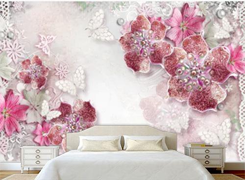 Tranh dán tường 3D phòng ngủ - TPN56