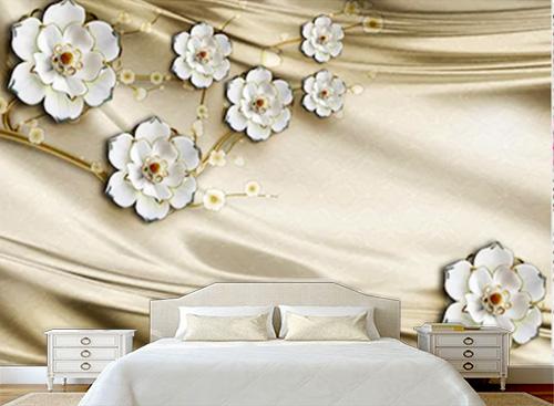 Tranh dán tường 3D phòng ngủ - TPN57