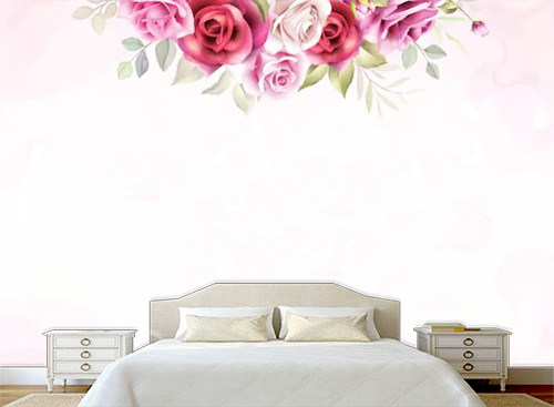 Tranh dán tường phòng ngủ - TPN93