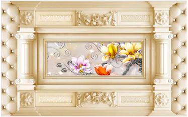 Tranh hoa 3d - TGN181
