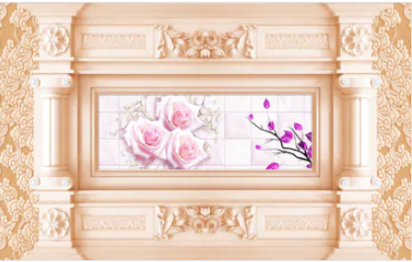 Tranh hoa 3d - TGN182