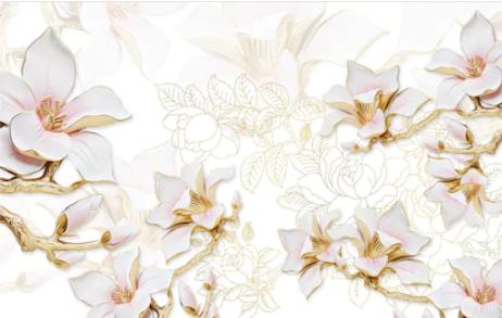 Tranh hoa 3d - TGN185