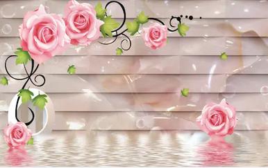 Tranh hoa nổi 3d - TGN120