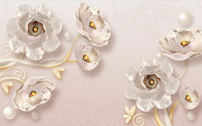 Tranh hoa nổi 3d - TGN114