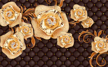 Tranh hoa nổi 3d - TGN117