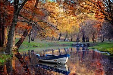 Tranh phong cảnh mùa thu 01