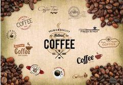 Tranh dán tường quán cà phê - 03