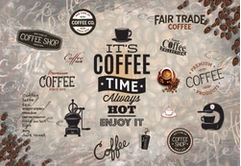 Tranh dán tường quán cà phê - 05