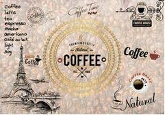 Tranh dán tường quán cà phê - 06