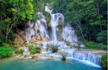 Tranh thác nước đẹp 14