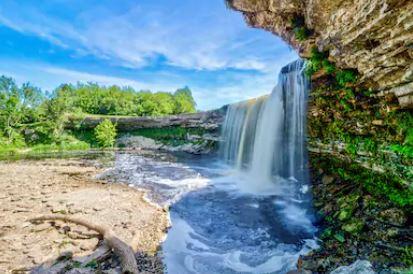 Tranh thác nước đẹp 16