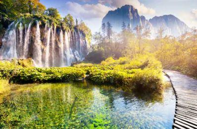 Tranh thác nước đẹp 17