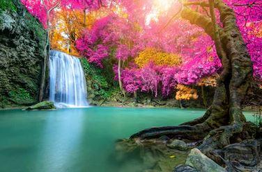 Tranh thác nước đẹp 21