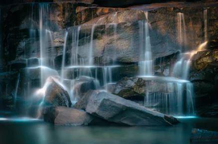 Tranh thác nước đẹp 23