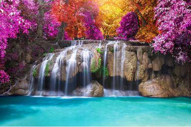 Tranh thác nước đẹp 24